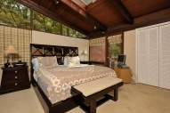 Master Bedroom with skylight and bath en suite