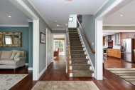 Beautiful entry leads to open floor plan