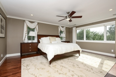 Master suite, seasonal views